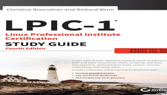 دانلود کتاب LPIC-1 Linux Professional Institute Certification Study Guide Exam 4th Edition