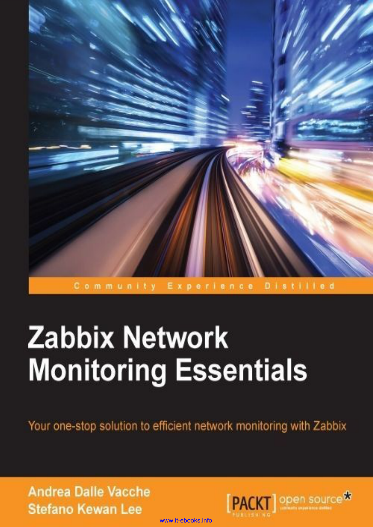 دانلود کتاب Zabbix Network Monitoring Essentials